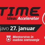 ITIME – Prijave odprte le še do 27. januarja. Prišel je čas, da uresničite svojo idejo!