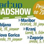 Podjetniški roadshow po Sloveniji, 4. februarja v RC IKT