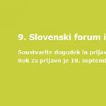 SPIRIT Slovenija vabi k prijavi inovacij v okviru 9. Slovenskega foruma inovacij