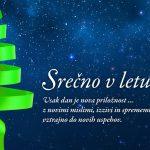 Vsak dan je nova priložnost …Srečno 2015