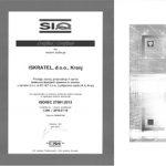 Pridobili smo certifikat ISO/IEC 27001