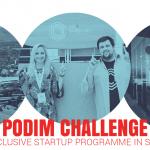 Podim & Podim Challenge startup prijave se iztečejo 31.3.